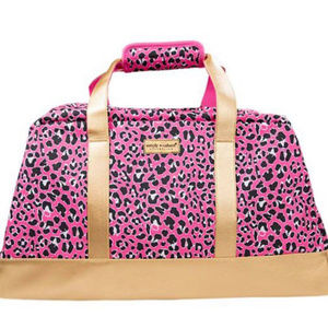 Simply Southern Pink Leopard Travel Bag